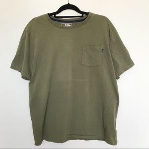 Olive Green The North Face T-Shirt